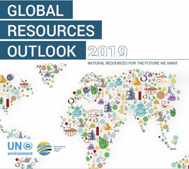 Global Resources Outlook 2019 report frontpage